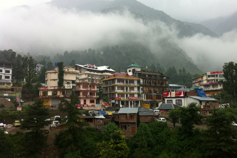 Scenic View of Dharamshala