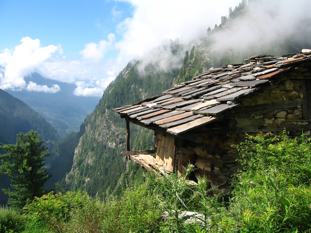 Scenic View of Kasol