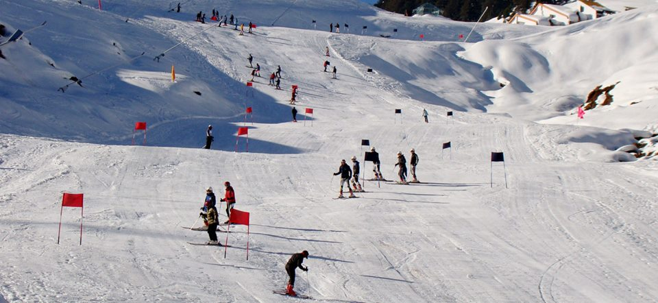 Snow Games in Auli